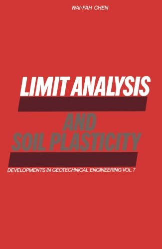 9780444569097: Limit Analysis and Soil Plasticity