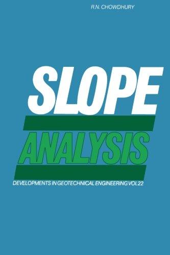 9780444569370: Slope Analysis
