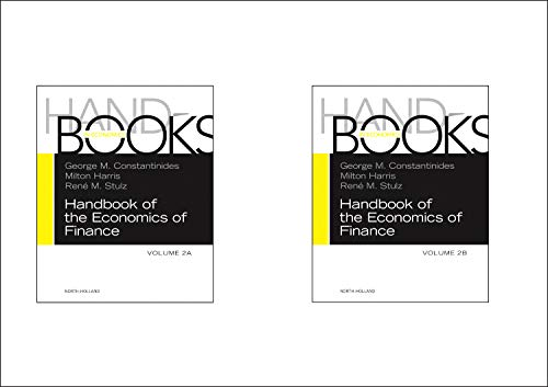 9780444594167: Handbook of the Economics of Finance SET:Volumes 2A & 2B, Volume 2A-2B: Corporate Finance and Asset Pricing