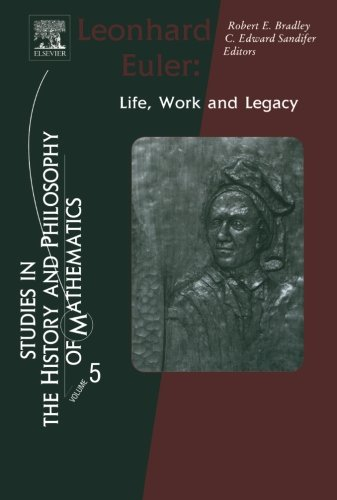 9780444602947: Leonhard Euler: Life, Work and Legacy: Volume 5