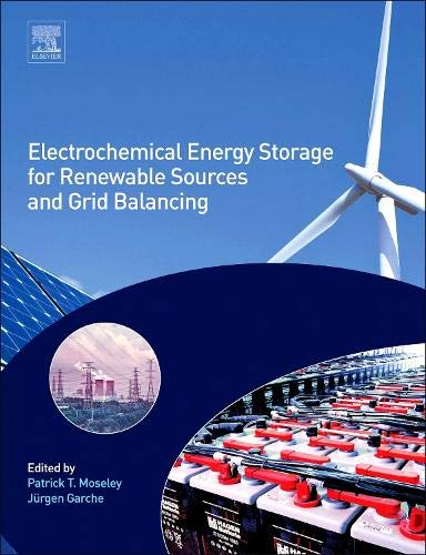 9780444626165: Electrochemical Energy Storage for Renewable Sources and Grid Balancing