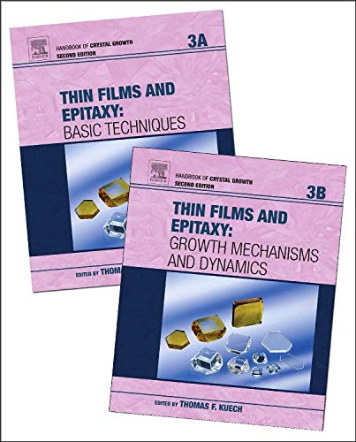9780444633040: Handbook of Crystal Growth, Volume 3A-3B: Thin Films and Epitaxy
