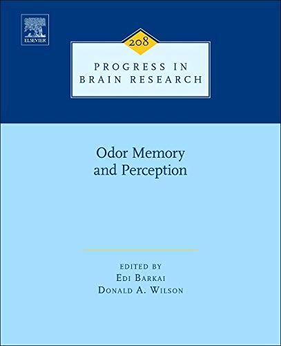 Odor Memory and Perception (Hardback)