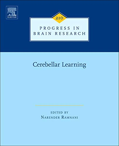 9780444633569: Cerebellar Learning, Volume 210 (Progress in Brain Research)