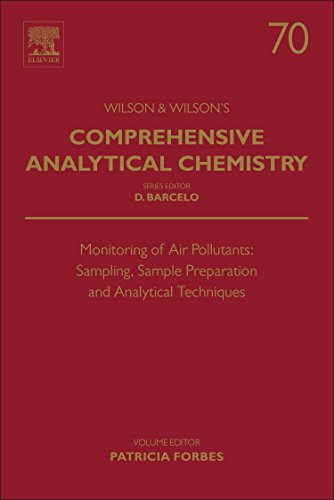 9780444635532: Monitoring of Air Pollutants, Volume 70: Sampling, Sample Preparation and Analytical Techniques (Comprehensive Analytical Chemistry)