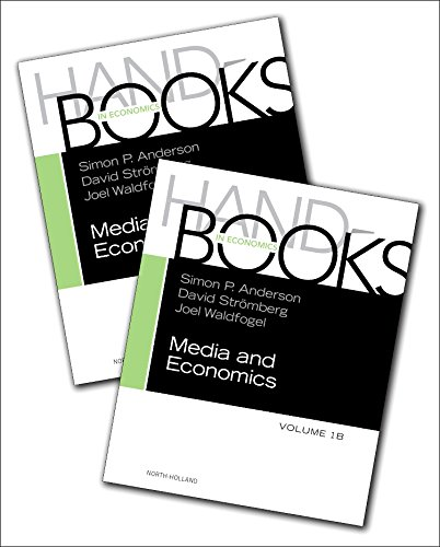 9780444636911: Handbook of Media Economics, Volume 2V