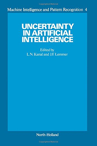 9780444700582: Uncertainty in Artificial Intelligence (Volume 4 of Machine Intelligence and Pattern Recognition) (Vol 1)