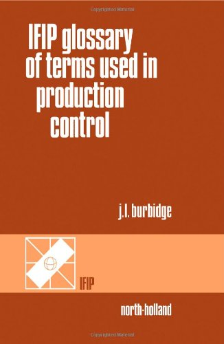 9780444702876: Ifip Glossary of Terms Used in Production Control
