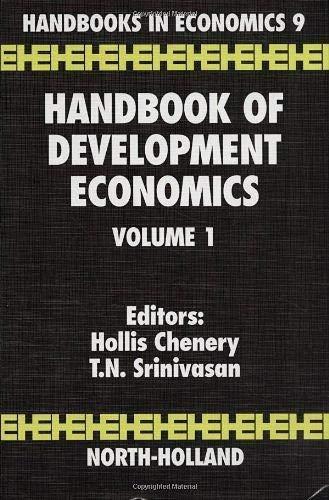 9780444703378: Handbook of Development Economics: Volume 1