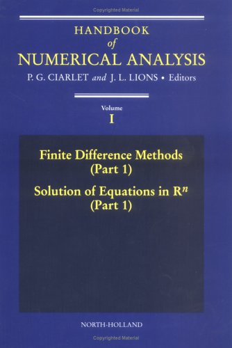 9780444703668: Handbook of Numerical Analysis: Finite Difference Methods v.1: Finite Difference Methods Vol 1