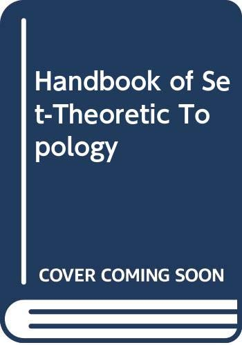 9780444704313: Handbook of Set-Theoretic Topology
