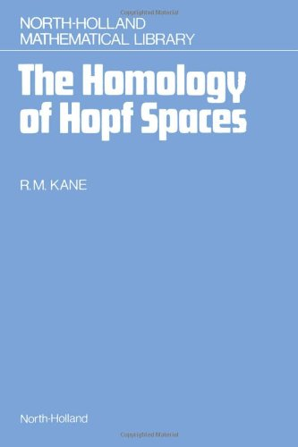 9780444704641: The Homology of Hopf Spaces (North-Holland Mathematical Library)