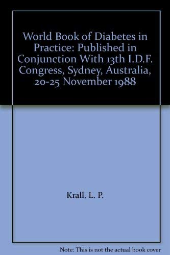 World Book of Diabetes in Practice: Published: Krall, L. P.,