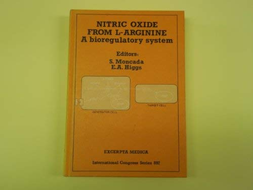 Nitric Oxide from L-Arginine: A Bioregulatroy System Proceedings of a Symposium Held at the Royal ...