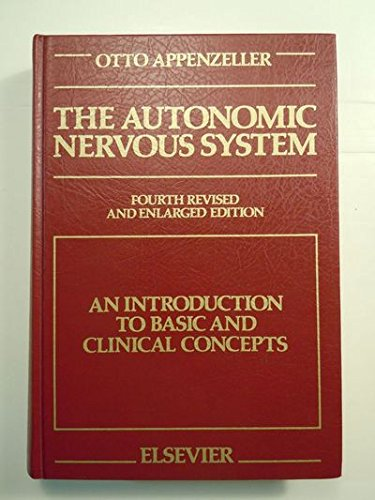 9780444812278: The Autonomic Nervous System: An Introduction to Basic and Clinical Concepts