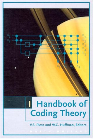 9780444814722: Handbook of Coding Theory, Volume 1: Part 1 : Algebraic Coding
