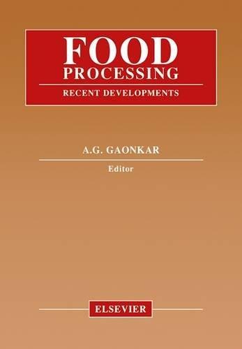 9780444815002: Food Processing: Recent Developments