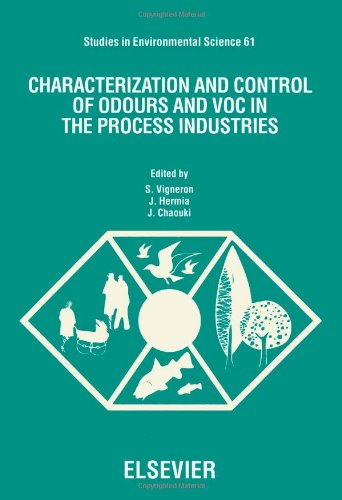 9780444817891: Characterization and Control of Odours and Voc in the Process Industries: Proceedings of the Second International Symposium on Characterization and (Studies in Environmental Science)