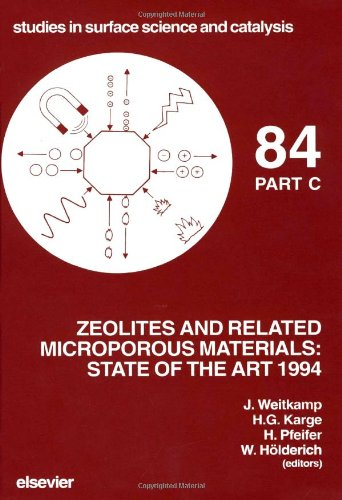 Zeolites and Related Microporous Materials: State of the Art 1994 (Three Volume Set): Weitkamp, J./...