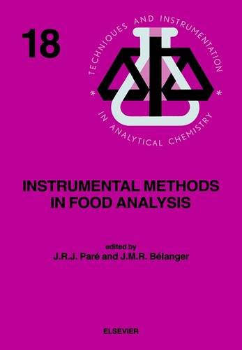 9780444818683: Instrumental Methods in Food Analysis (Techniques and Instrumentation in Analytical Chemistry)