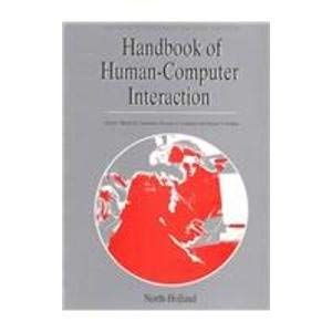 9780444818768: Handbook of Human-Computer Interaction, Second Edition