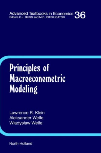 9780444818782: Principles of Macroeconomic Modeling (Advanced Textbooks in Economics)