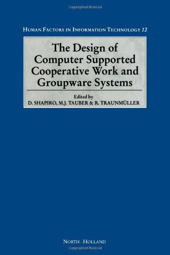 9780444819987: The Design of Computer Supported Cooperative Work and Groupware Systems (Human Factors in Information Technology)