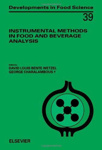 Instrumental Methods in Food and Beverage Analysis: n/a