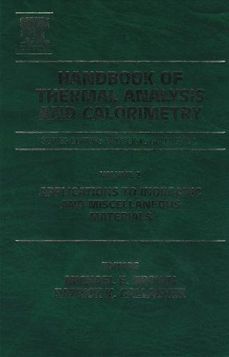 9780444820860: Handbook of Thermal Analysis and Calorimetry, Volume 2: Applications to inorganic and miscellaneous materials