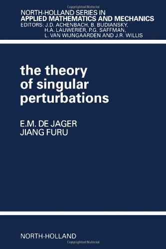 9780444821706: The Theory of Singular Perturbations, Volume 42 (North-Holland Series in Applied Mathematics and Mechanics)