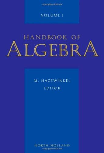 9780444822123: Handbook of Algebra, Volume Volume 1