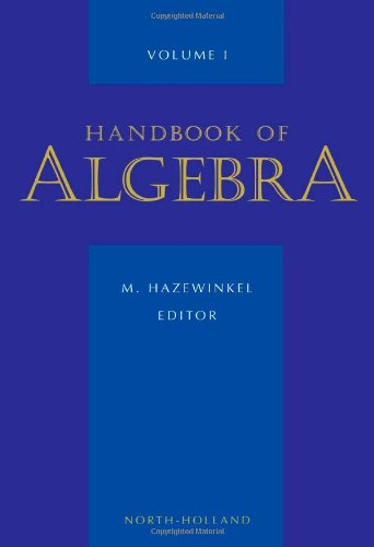 9780444822123: Handbook of Algebra, Volume Volume 1