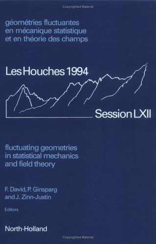 9780444822949: Fluctuating Geometries in Statistical Mechanics and Field Theory: Les Houches Summer School, Session LXII, 2 August - 9 September 1994