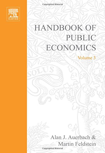 9780444823144: Handbook of Public Economics, Volume 3 (Handbooks in Economics, Volume 4)