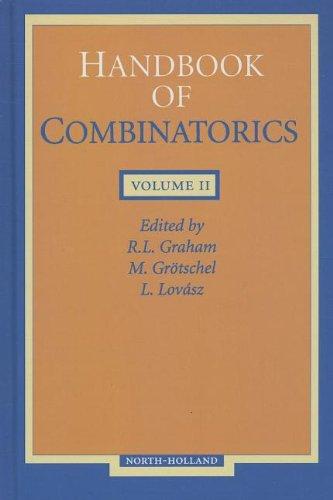 9780444823519: Handbook of Combinatorics Volume 2