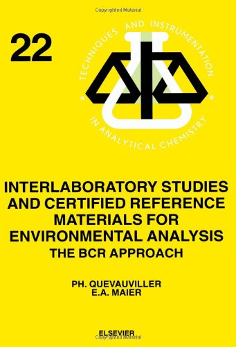Interlaboratory Studies and Certified Reference Materials for Environmental Analysis, Volume 22: ...