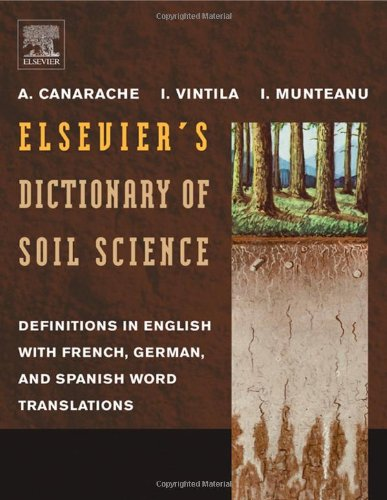 9780444824783: Elsevier's Dictionary of Soil Science: Definitions in English with French, German, and Spanish word translations