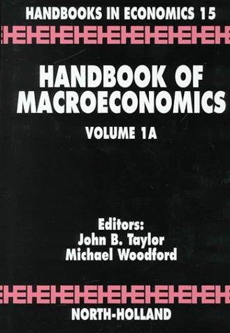 9780444825285: Handbook of Macroeconomics, Volume 1 (Set)