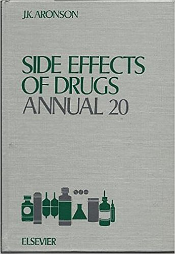 9780444825322: Side Effects of Drugs Annual, Volume 20