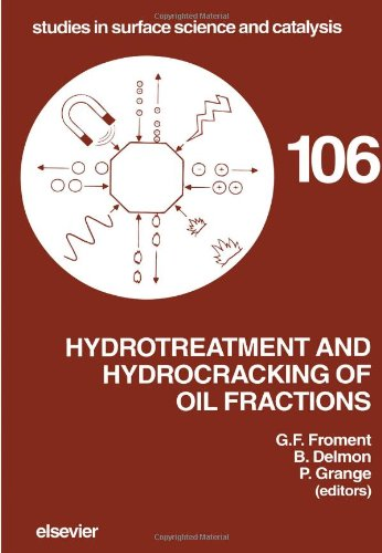 9780444825568: Hydrotreatment and Hydrocracking of Oil Fractions (Studies in Surface Science and Catalysis)