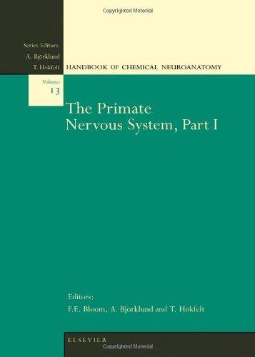 9780444825582: The Primate Nervous System, Part I, Volume 13 (Handbook of Chemical Neuroanatomy)