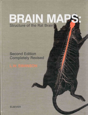 9780444827852: Brain Maps: Structure of the Rat Brain, Second Edition