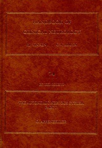 9780444828125: Autonomic Nervous System Part 1, Volume 74 (Handbook of Clinical Neurology)