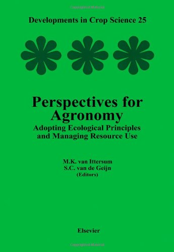 9780444828521: Perspectives for Agronomy: Adopting Ecological Principles and Managing Resource Use (Developments in Crop Science)