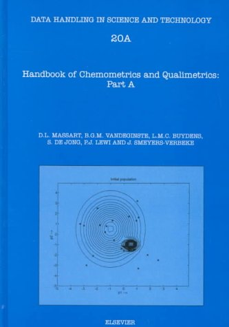 9780444828545: Handbook of Chemometrics and Qualimetrics: Pt.A & B (Data Handling in Science and Technology)