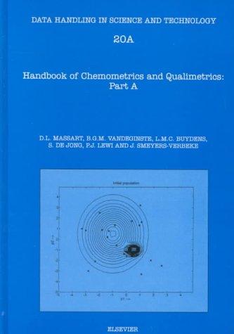 9780444828545: Handbook of Chemometrics and Qualimetrics