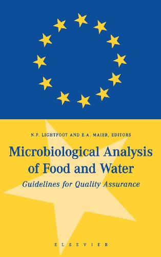 9780444829115: Microbiological Analysis of Food and Water: Guidelines for Quality Assurance