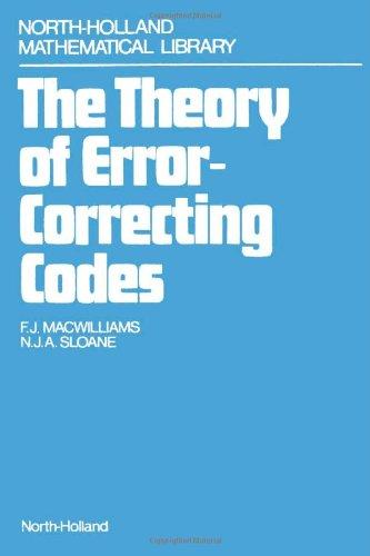9780444850102: Theory of Error-correcting Codes: v. 2