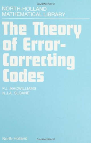 9780444850119: The Theory of Error-Correcting Codes (North-Holland Mathematical Library) by MacWilliams, F.J.; Sloane, N.J.A. published by North Holland Publishing Co. Hardcover