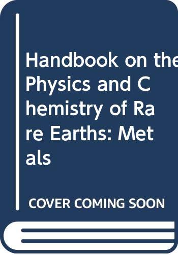 Handbook of Physics and Chemistry of Rare